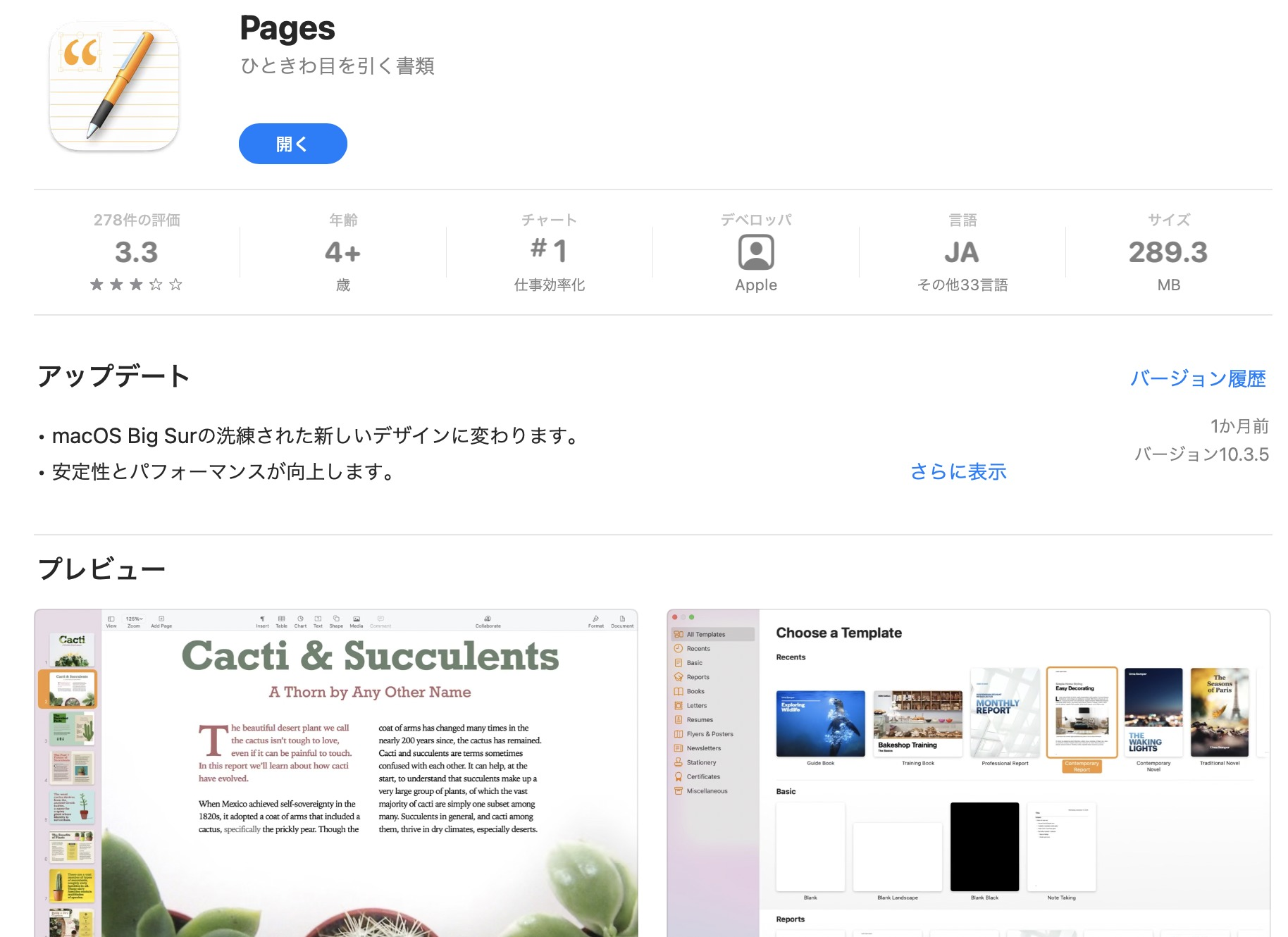 Kindle出版 Pages